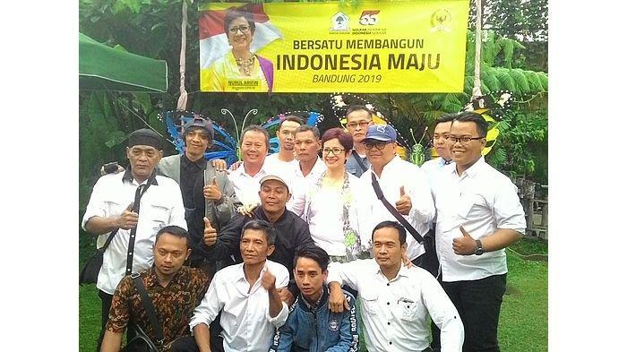 Anggota Komisi I DPR RI Nurul Arifin Syukuran Bersama Relawan dan Tim Pemenangan
