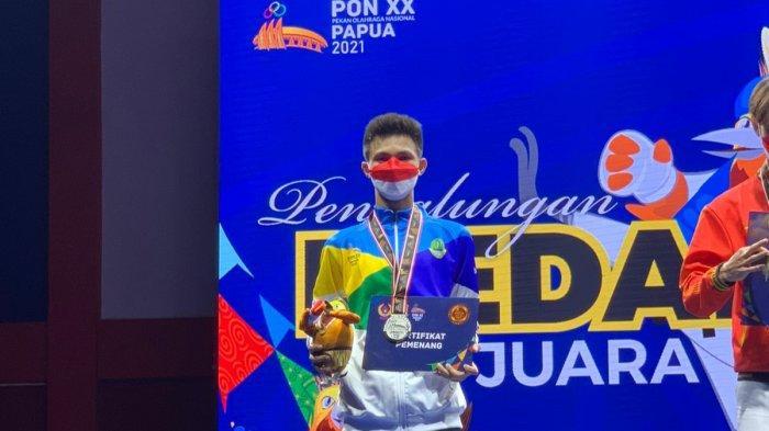 Anggota Polres Tasikmalaya Raih Medali Perak di PON XX Papua untuk Cabang Taekwondo