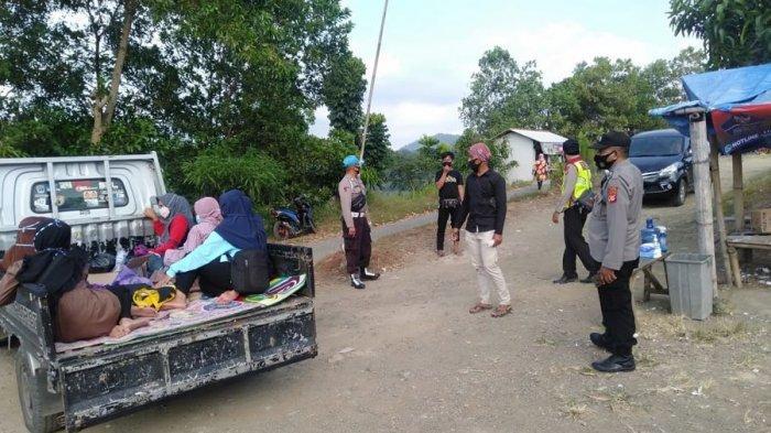 Libur Lebaran, Objek Wisata Panenjoan Jatigede Dijaga Ketat Polisi, Pengunjung Diperiksa