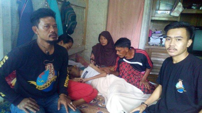 Oramas Ini Sedang Galang Dana untuk Obati Kanker Lidah Asep Rahayu, Berharap Bupati Garut Membantu