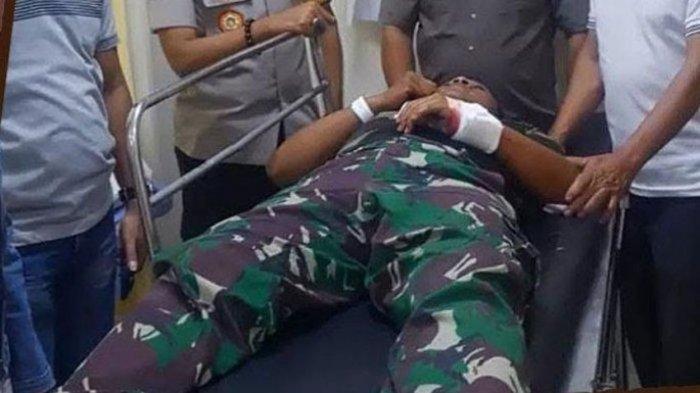 Anggota TNI Tewas Dibacok Menantu, Terungkap Kronologi Aksi Kejam, Luka Dada Tembus ke Paru-paru