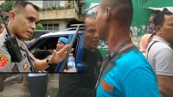 Anggota TNI Disiksa Preman Pasar, Saking Brutalnya Kepala Anggota TNI Berdarah Dipukul Pakai Linggis