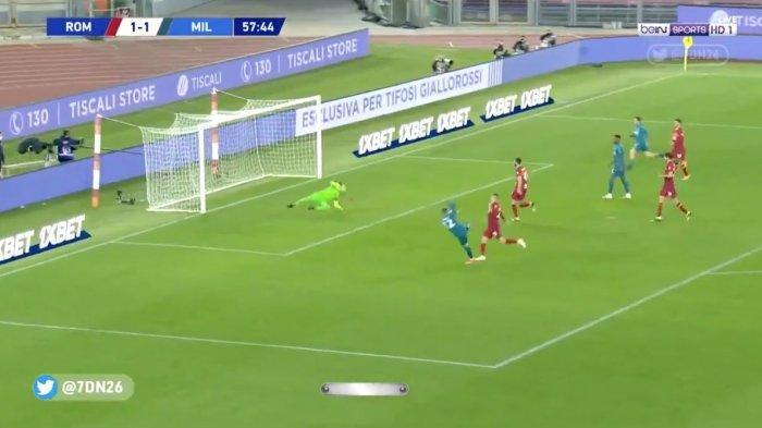 Hasil AS Roma vs AC Milan 1-2, Rossoneri Kembali ke Jalur Kemenangan