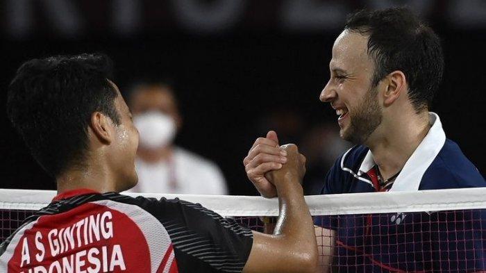 KONI Cimahi Sangat Bangga Anthony Ginting Ukir Prestasi di Olimpiade Tokyo 2020