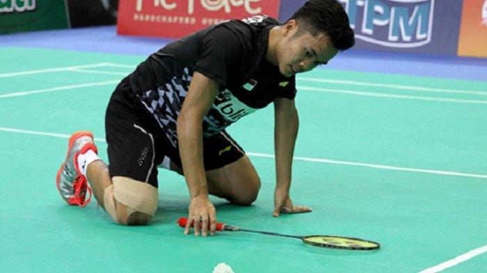 Mimpi Anthony Ginting ke Final Olimpiade Pupus, Dikalahkan Chen Long, Besok Main Perebutkan Perunggu