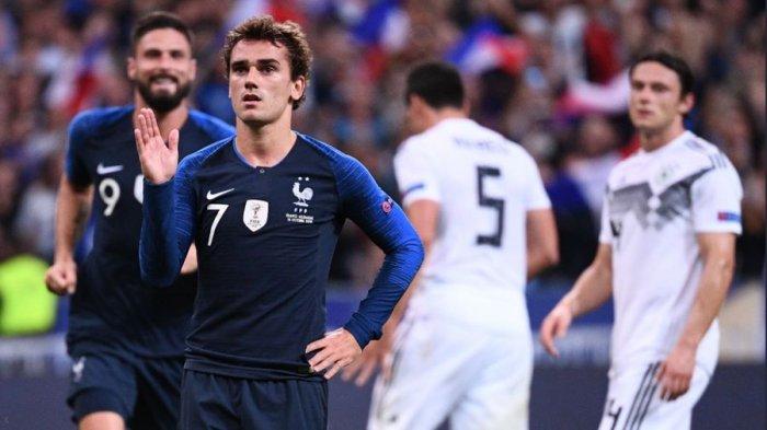 Hasil Uji Coba Euro 2020, Timnas Prancis Menang,  Timnas Spanyol Turunkan Timnas U-21