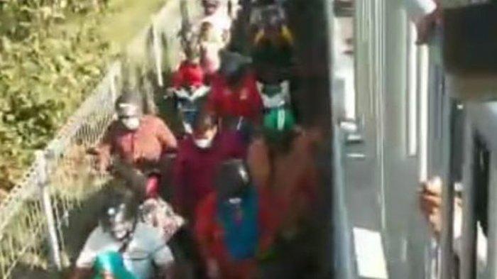 Pengendara di Jembatan Suramadu Pilih Jebol Pagar Demi Hindari Tes Swab Antigen
