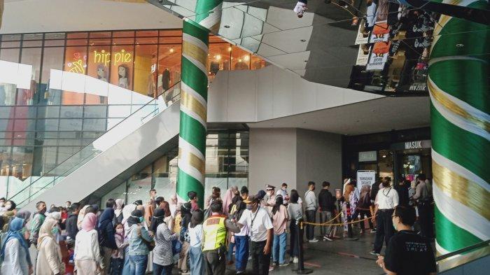 Mal di Kota Bandung Penuh Sesak Menjelang Lebaran, Pengunjung : Kami Pakai Masker Kok