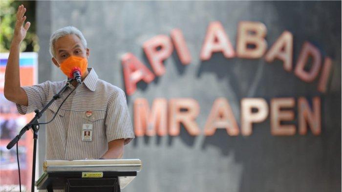 Api Abadi Mrapen Kembali Menyala, Gubernur Ganjar Pranowo Minta Masyarakat Jaga Aset Grobogan