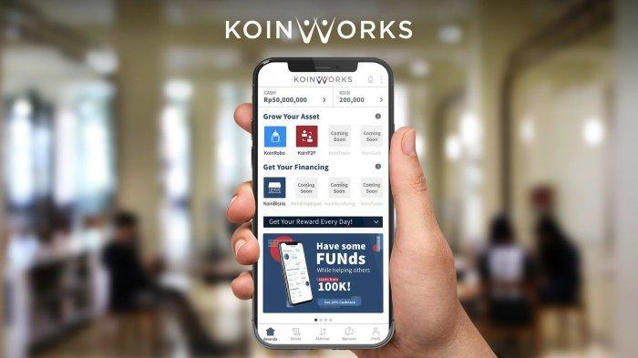 KoinWorks Dapat Pendanaan Rp 149 Miliar