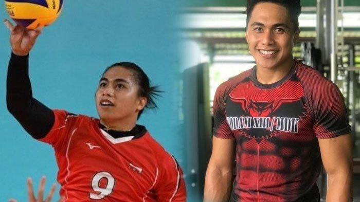 Foto Masa Lalu Aprilia Manganang Sebagai Atlet Voli, Kerap Diprotes Lawan karena Fisiknya Mirip Pria