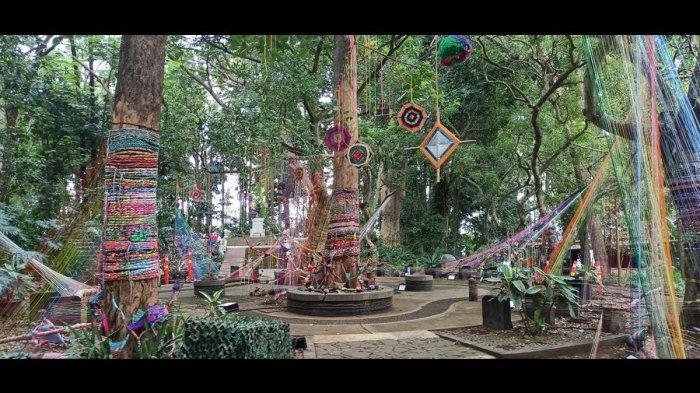 Tahura Bandung Kini Punya Wisata Hutan Menyala, Benderang pada Malam Hari