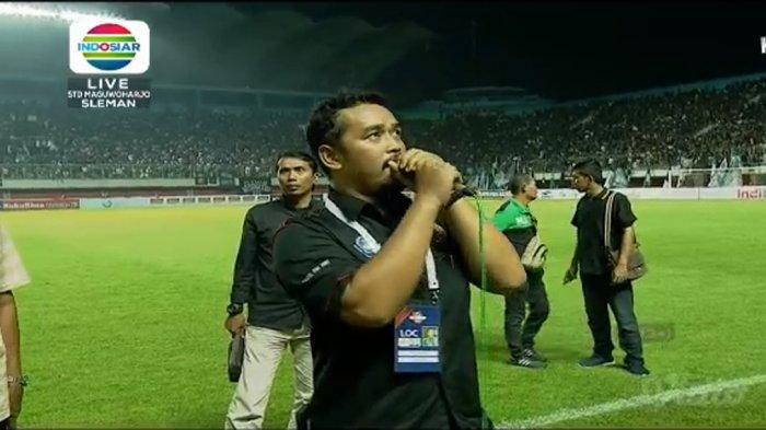 Rusuh Laga Pembuka Liga 1 PSS Sleman vs Arema FC, Polisi dan TNI Turun Tangan Tenangkan Aremania