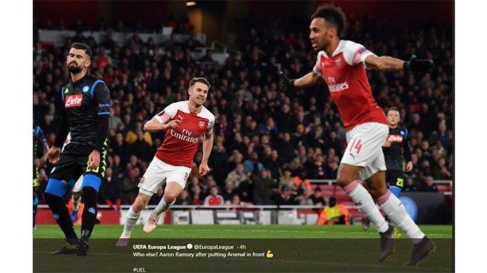 Jadwal Liga Europa Malam Nanti - Rapid Wina Vs Arsenal
