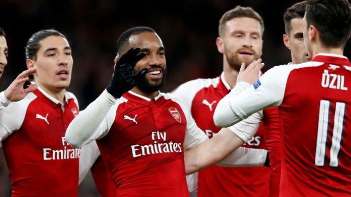 Hasil Liga Inggris - Arsenal Kalahkan Chelsea 3-1, Lacazette Cetak Gol, Menjauh dari Zona Degradasi
