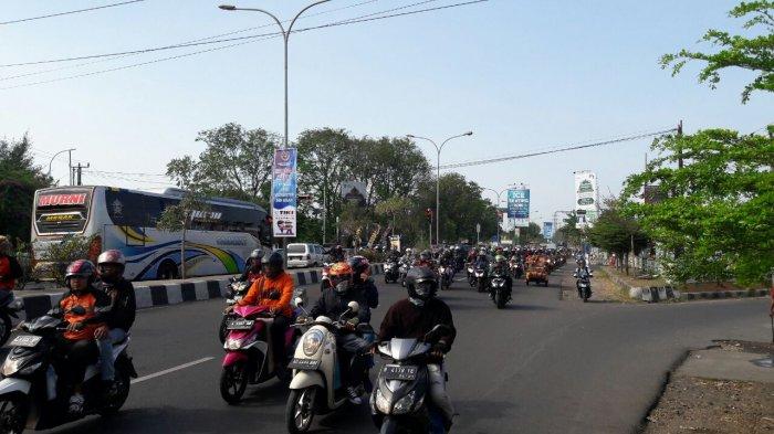 Begini Kondisi Jalur Pantura Kota Cirebon pada Puncak Arus Balik Gelombang Dua