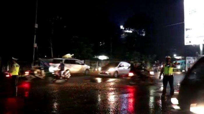 Arus Lalin Cicurug - Ciawi Landai, Kendaraan Dari Luar Kota Wajib Tunjukan Hasil Tes Covid-19