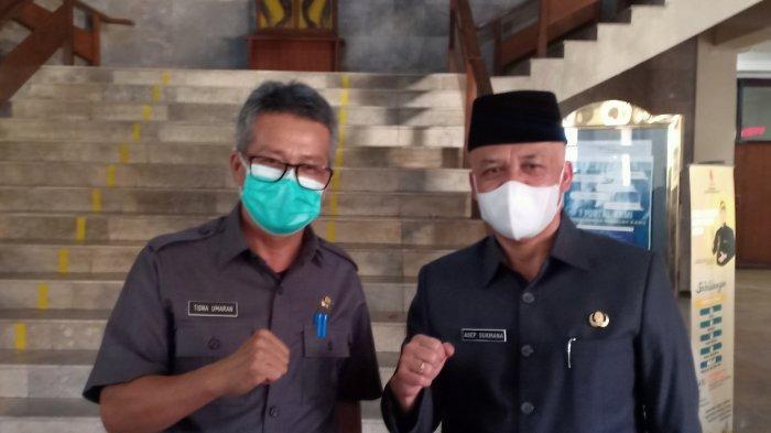 Asep Sukmana jadi Plh Bupati Bandung Plus Pj Sekda, Tisna Umaran Kembali jadi Kadis Pertanian