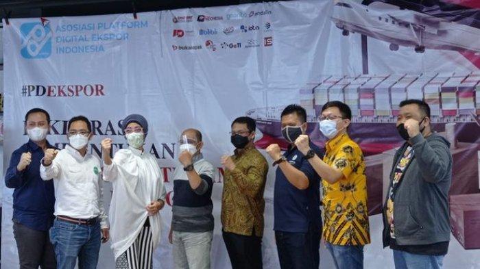 Ingin Ekspor Lebih Masif, Platform Digital Indonesia Bentuk Asosiasi dan Kampanyekan #Pdekspor