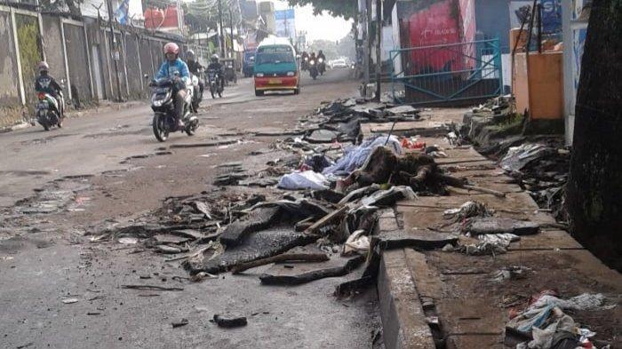 Aspal Jalan Mahar Martanegara 3 Kali Mengelupas, Dinas PUPR Cimahi: Tanggungjawab Pihak Pengembang