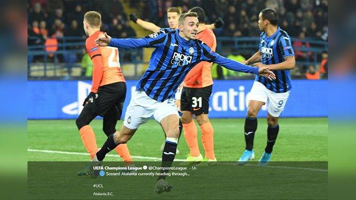 Atalanta Bikin Kejutan, Lolos ke 16 Besar Liga Champions, Atletico Madrid Menyusul