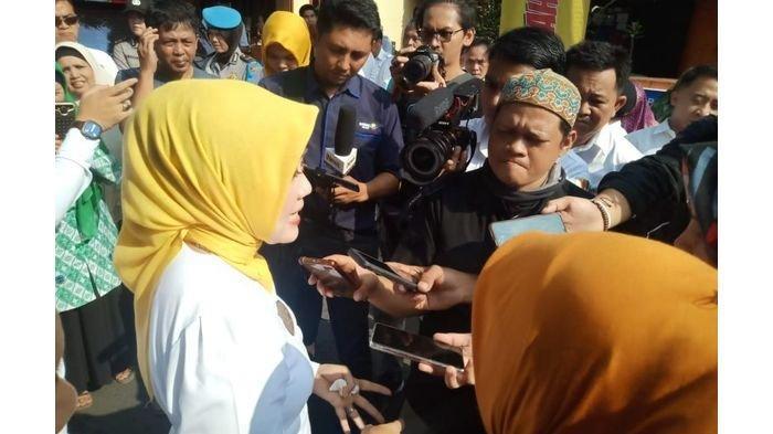 Istri Gubernur Jabar Cek Langsung Kondisi Penderita Stunting di Purbaratu Kota Tasikmalaya
