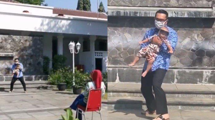 Momen Sedih Atalia Kamil, Tak Bisa Peluk Cium Bayi Arka karena Covid, 'Sulit Diungkapkan Kata-kata'