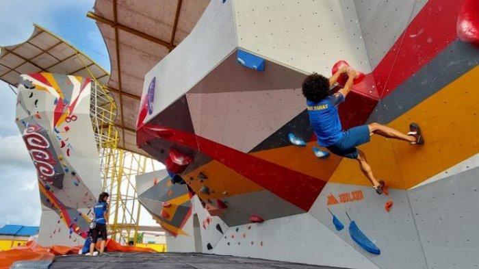 Atlet Panjat Tebing Jawa Barat Sudah di Timika, Jajal Venue dan Adaptasi Cuaca Menjelang Laga
