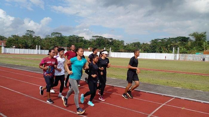 Adaptasi Suhu Panas, PASI Jabar yang Targetkan 7 Emas Gelar Latihan di Ciamis dan Pangandaran
