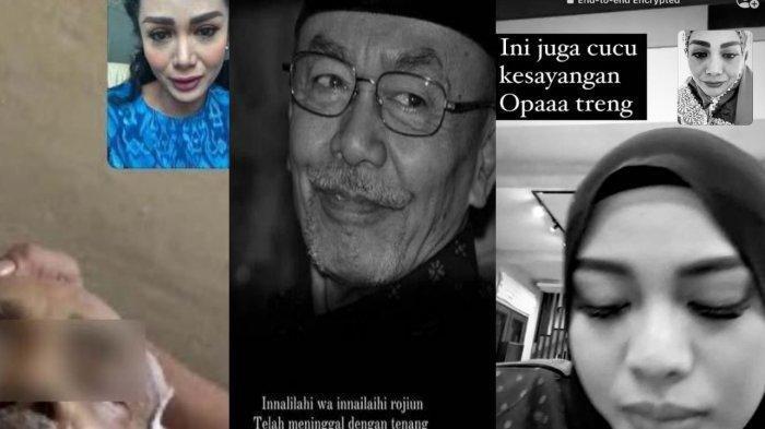 Cucu Kesayangan, Aurel Hermansyah Menangis saat Kakek Meninggal, Krisdayanti Berduka