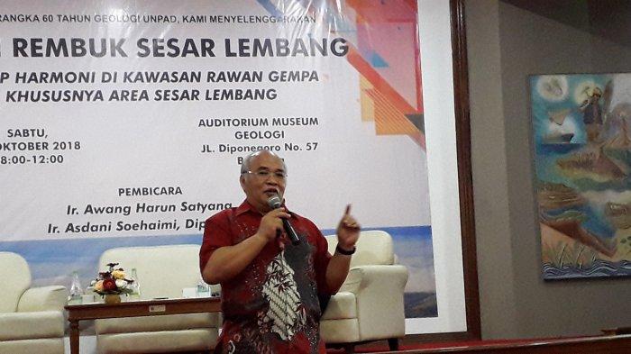 Jika Terjadi Gempa, Potensi Likuefaksi di Bandung Sangat Kecil