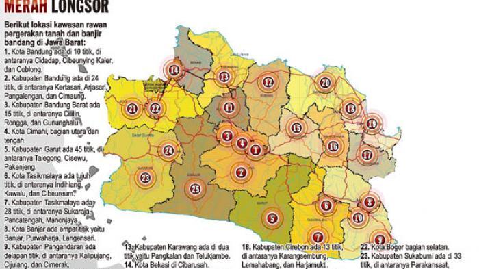 BNPB Perkirakan Puncak Kejadian Bencana Januari 2015