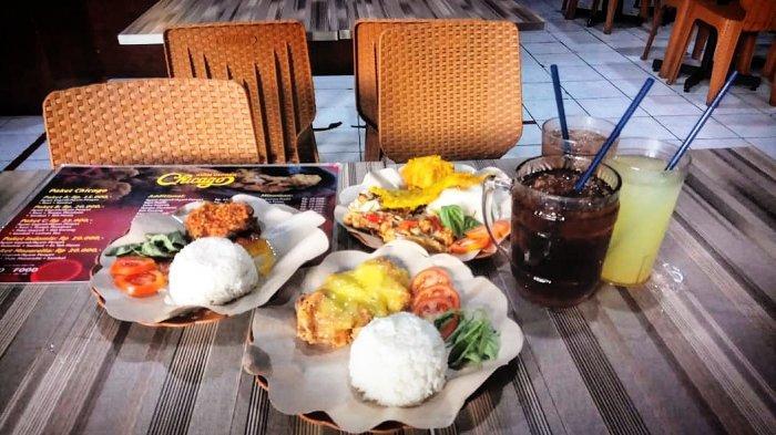 Kuliner Asyik dengan Aneka Menu Geprek Berselera di Ayam Geprek Chicago Kota Bandung