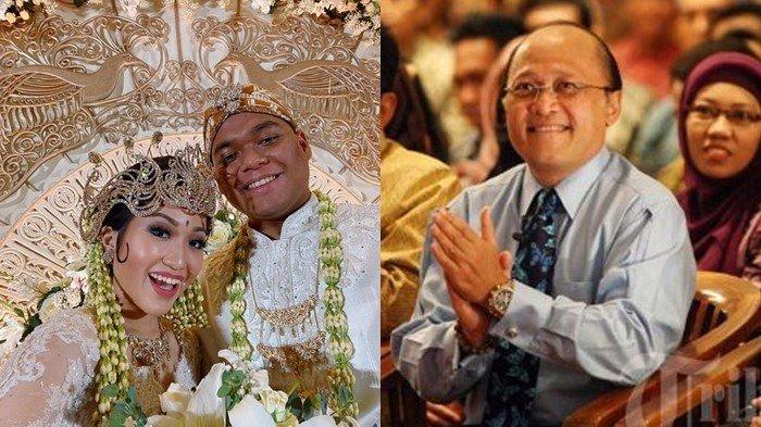 Sederet Foto-foto Kebahagiaan Putra Mantan Wakapolri dan Putri Mario Teguh, Azara dan Audrey Menikah