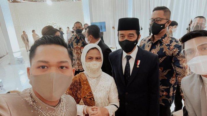 Selfie Azriel dan Thariq dengan Jokowi, Netizen Bahagia Jokowi-Prabowo Hadiri Nikahan Atta Aurel