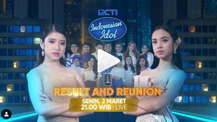 Inilah Deretan Bintang Tamu Bakal Tampil di Babak Result & Reunion Final Indonesian Idol Malam Ini