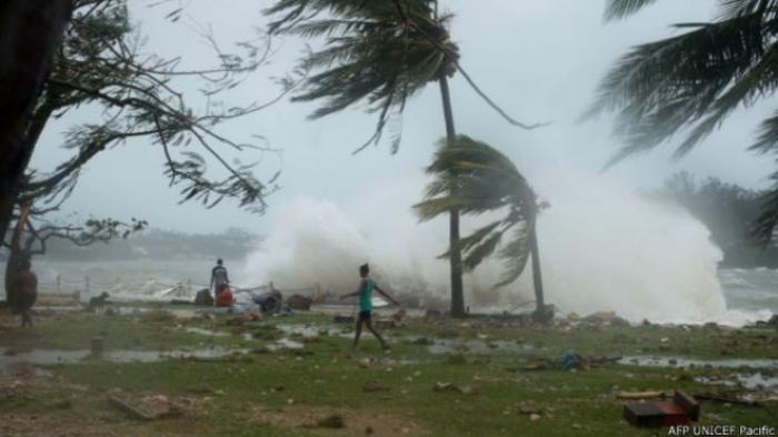 Badai Pam Berkekuatan 270 Km Per Jam Tewaskan 44 Orang