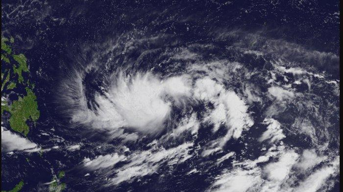 Peringatan dari BMKG, Bibit Siklon Tropis 94W Berubah Jadi Badai Surigae, Ada di Utara Indonesia