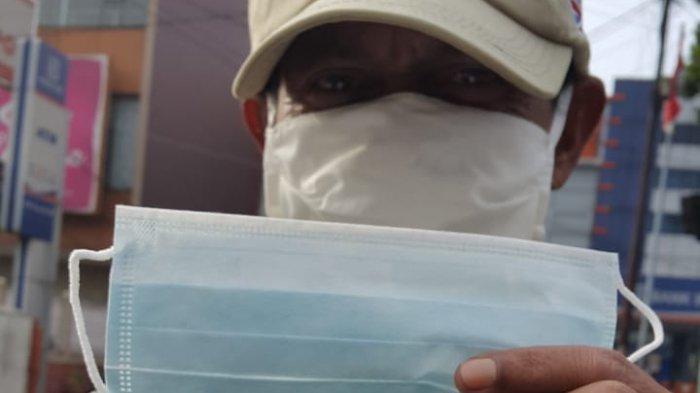 Tribun Jabar Bagi-bagi Masker untuk Pengecer dan Loper Koran