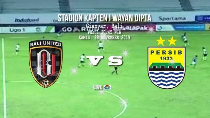 Laga Persib Bandung vs Bali United Diprediksi Panas, Duel Dua Tim Kejar Target
