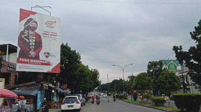 Baliho Raksasa Puan Maharani di Kota Bandung Sampai Dipasang di 4 Titik, Ini Isi Pesannya