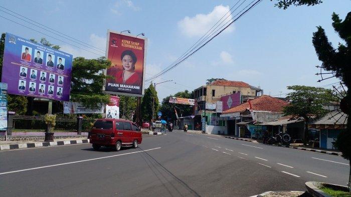 Di Ciamis, Baliho Puan Maharani Sudah Terpasang Sejak Sebulan Lalu, Ada di 7 Titik dalam 2 Ukuran