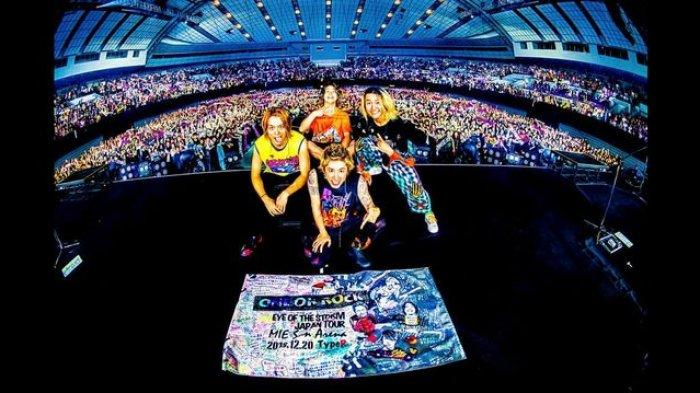 Konser Band Asal Jepang One Ok Rock Resmi Ditunda, Berikut Tata Cara Pengembalian Dana Tiketnya