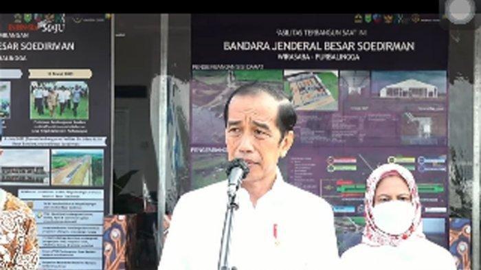 Jokowi Tinjau Bandara Jenderal Soedirman di Purbalingga, Sudah Jadi tapi Terminalnya Darurat