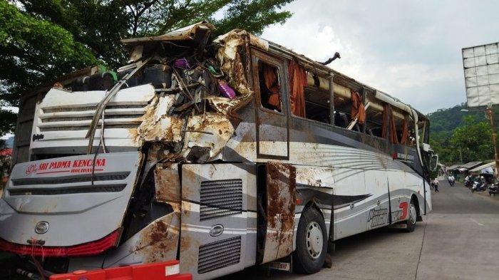 Fakta Baru Penyebab Kecelakaan Bus Maut di Tanjakan Cae, Ban Kanan Belakang Gak Bisa Direm