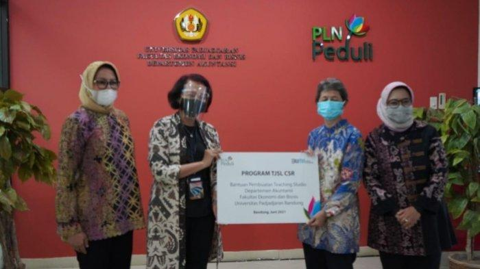 Bangun Teaching Studio Bagi Unpad, PLN Berikan Bantuan TJSL CSR senilai 770 Juta