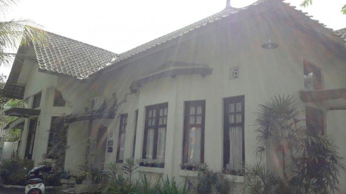 Bangunan rumah karya Soekarno di Jalan Palasari No 5.