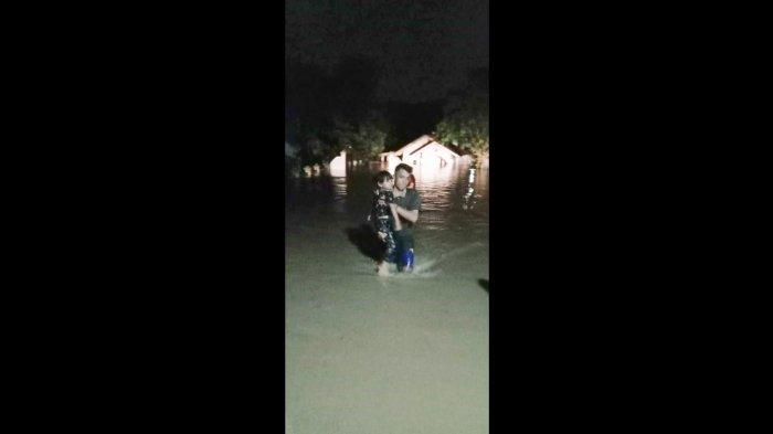 Dua Desa di Cianjur Diterjang Banjir Menjelang Sahur, BPBD Cianjur: Dampak Banjir 21 Rumah Terendam