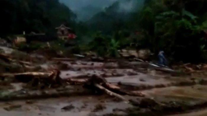 BREAKING News, Banjir Bandang dan Longsor Terjang Citengah Sumedang, Tiga Orang Jadi Korban
