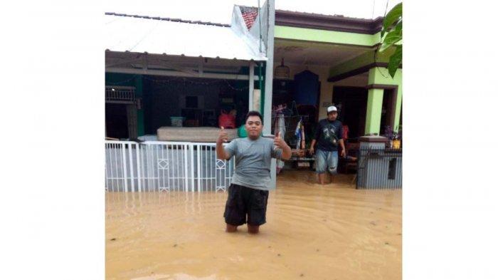 Banjir di Karawang Makin Meluas,Sungai Cikalapa Mulai Surut, Gantian Sungai Citarum yang Meluap